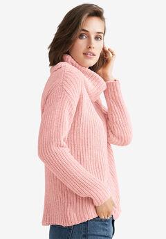 Chenille Turtleneck Sweater by ellos®,