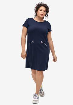 Zip-Pocket Dress by ellos®,