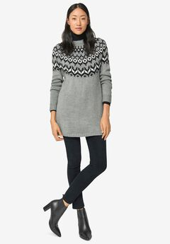 Fairisle Sweater Tunic,