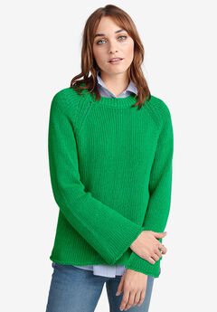 Raglan-Sleeve Sweater by ellos®,