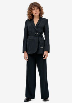 Belted Soft Blazer by ellos®,