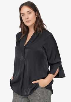 Shawl Collar Tunic,
