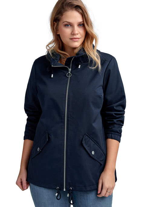 plus size spring jackets