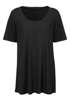 Short Sleeve A-line Tunic by ellos®,
