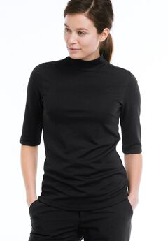 Mock Neck Tee by ellos®,
