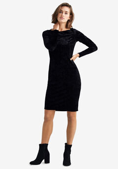 Velvet Sheath Dress by ellos®,