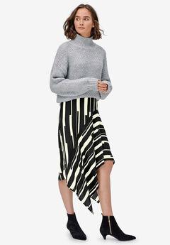 Hanky-Hem Midi Skirt by ellos®,