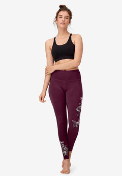 Floral Print Leggings by ellos®,