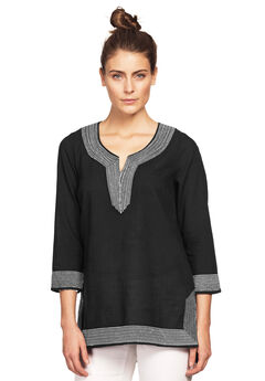 Embroidered Kurta Tunic by ellos®,