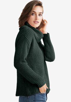 Chenille Turtleneck Sweater,