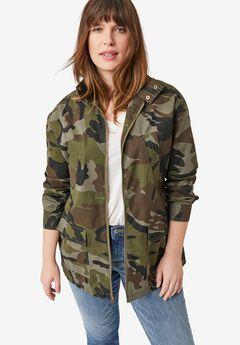Camo Utility Jacket,