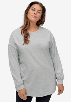 Blouson Sleeve Sweatshirt Tunic by ellos®,