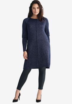 Metallic Sweater Dress by ellos®,