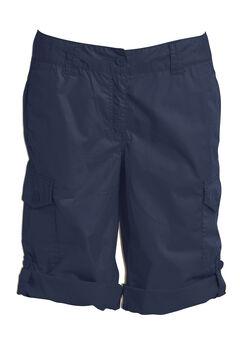 Convertible Cargo Shorts, NAVY