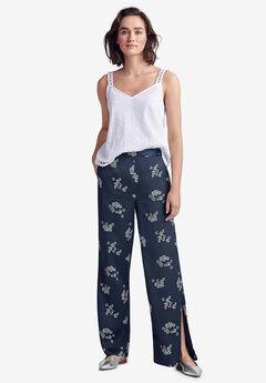 Wide Leg Satin Pants by ellos®,