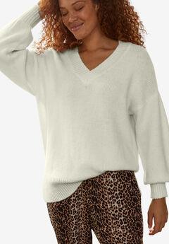 Blouson Sleeve Pullover,