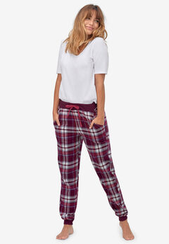 Plaid Flannel Sleep Pants by ellos®,