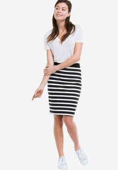 Knit Pencil Skirt by ellos®,