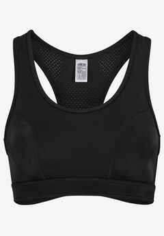 Mesh-Back Sports Bra by ellos®,