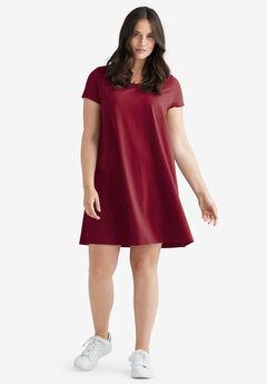 Short Sleeve Tee Dress by ellos®,