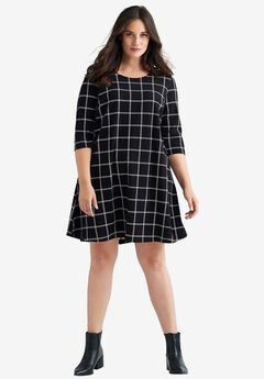 A-line Tee Dress by ellos®,