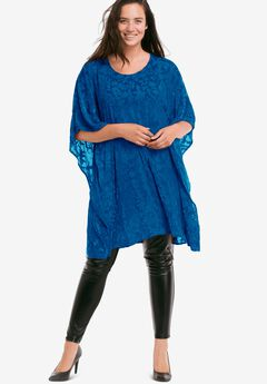 Burnout Velvet Tunic,