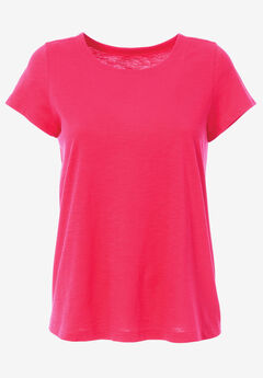 Trapeze Knit Tee by ellos®,
