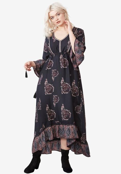 Flora A-Line Maxi Dress by ellos®