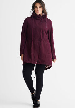 Hooded Twill Anorak by ellos®,