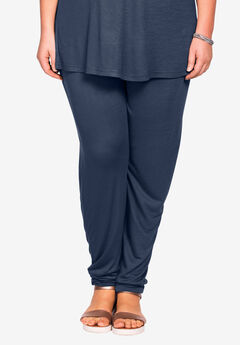 Soft Knit Elastic Waist Pants by ellos®,