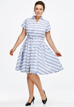 Sandy Shirtwaist Dress by ellos®,