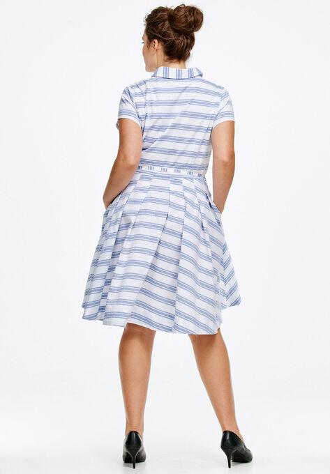 Sandy Shirtwaist Dress By Ellos On Hover