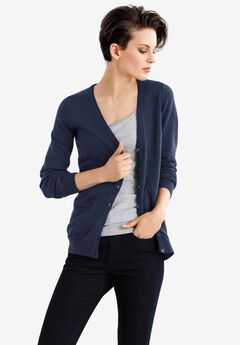 Everyday Cardigan by ellos®, NAVY
