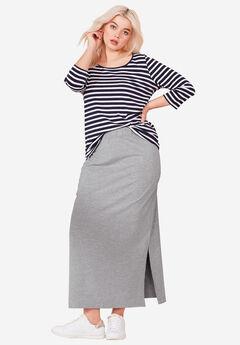 Knit Maxi Skirt by ellos®,