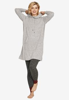 Funnel-Neck Lounge Sweatshirt Tunic by ellos®,