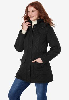Plus Project Quilted Parka,