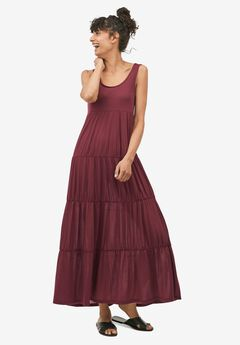 Tiered Maxi Dress by ellos®,