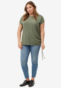 Crepe Front Tee by ellos®,