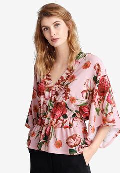 Kimono Sleeve Blouse by ellos®,