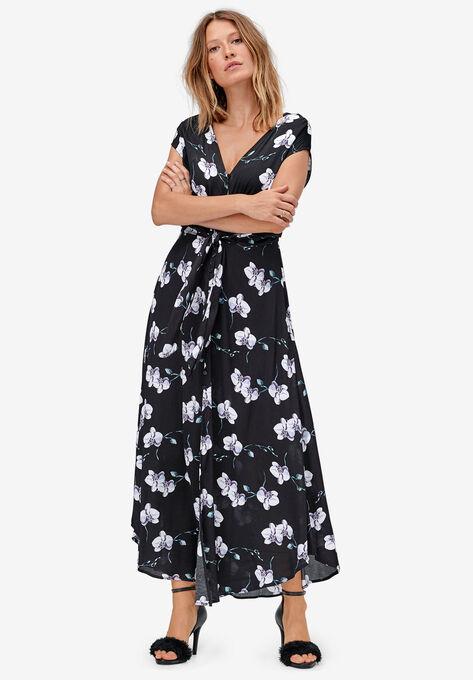Tie-Front Maxi Dress by ellos®
