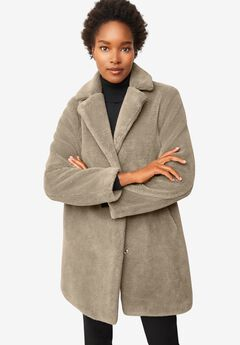 Teddy Faux Fur Coat, BARK