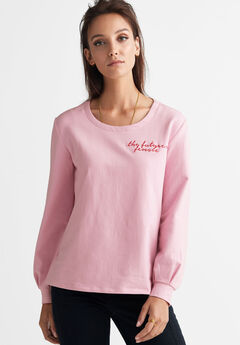 The Future is Female Sweatshirt by ellos®,