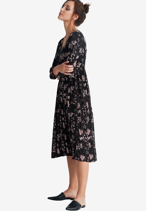 Floral A-Line Dress by ellos®