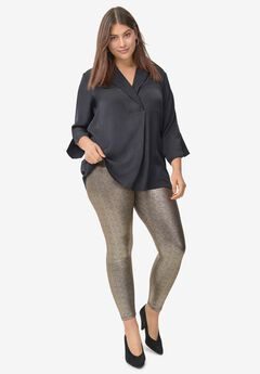 Metallic Leggings,