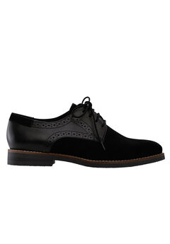 Lace-Up Oxford Flats by ellos®,