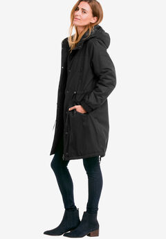 Twill Hooded Anorak by ellos®,