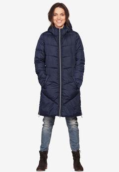 Long Puffer Coat by ellos®,