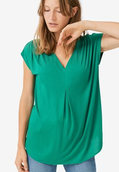 Inverted Pleat Tunic by ellos®,