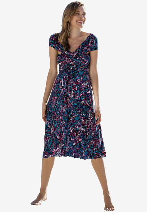 58c18b529e6ab Strapless Beach Dress Cover Up by ellos®