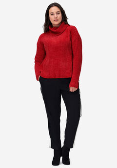 Chenille Turtleneck Sweater by ellos®,